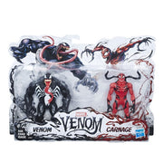 "Marvel Comics Venom 6"" Action Figure Venom with Carnage 2 Pack"