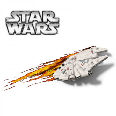 Exclusive Star Wars Millennium Falcon 3DFX Wall Night Light