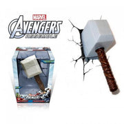 Marvel Avengers Thor Hammer 3DFX Wall Night Light
