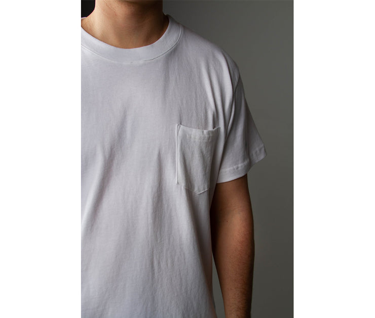Pocket Tee | White