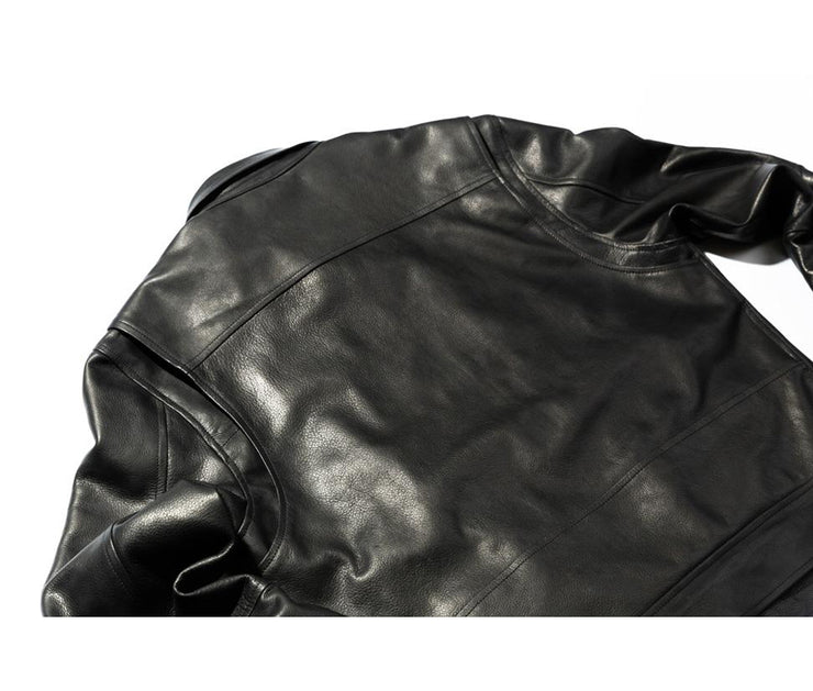 Leather Jacket | Black