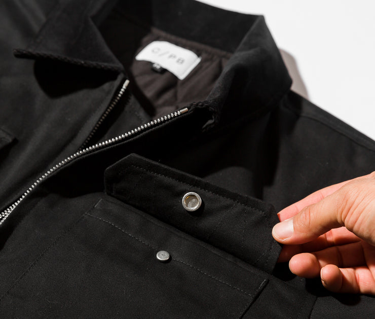 The Brad Twill Jacket | Black