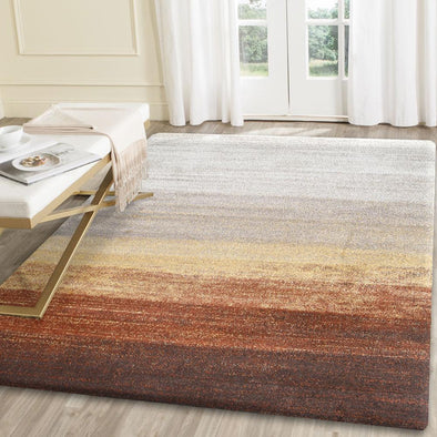 Morisot Orange Ombre Rug