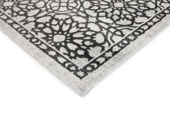 Morisot Dark Grey Demask Rug