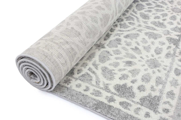 Morisot Grey Demask Rug