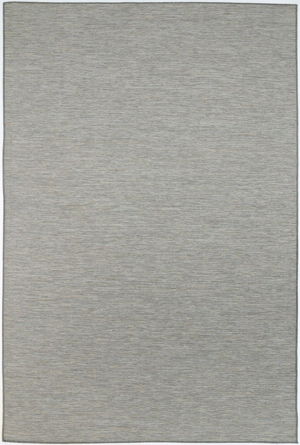 Sun Dance Grey and Blue Reversible Indoor Outdoor Rug