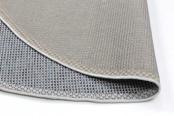 Sydney Grey Blue Indoor Outdoor Rug
