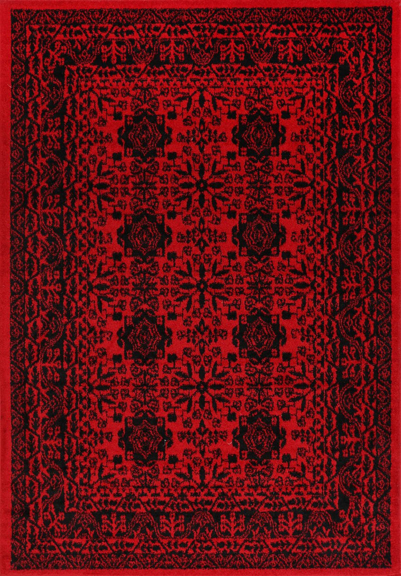 Tribe Traditional Khal Red Afghan Rug