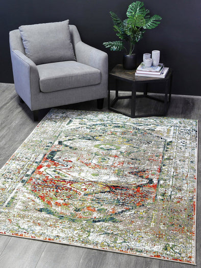 Madison Distressed Classic Multi Rug