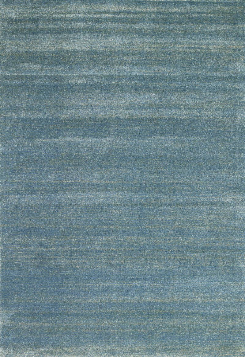 Parma Teal Blue Contemporary Rug