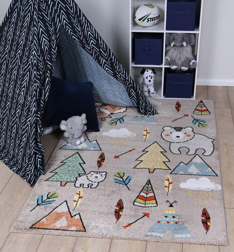 Nova Kids Adventure Beige Rug