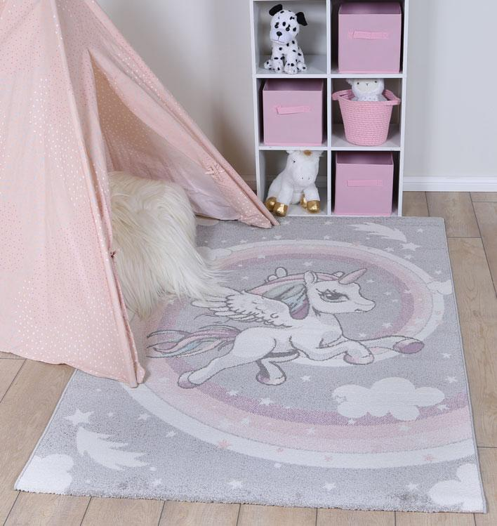 Nova Kids Rainbow Unicorn Rug