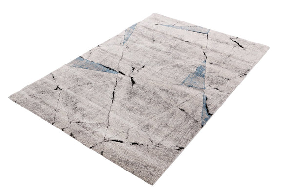 VEGAS Blue Prisim Abstract Rug