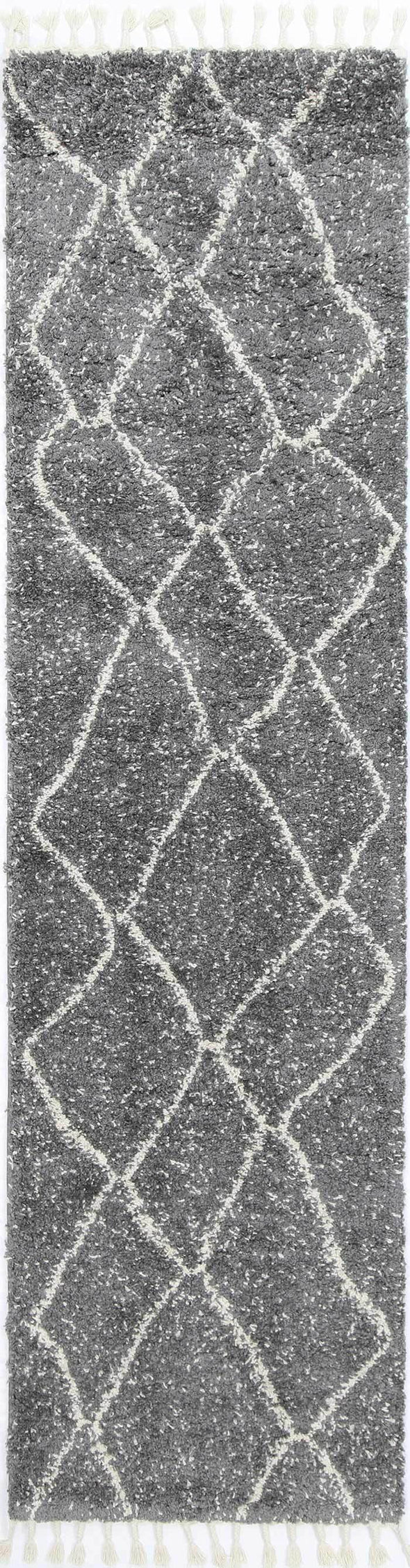 Serenity Maxen Tribal Grey Rug