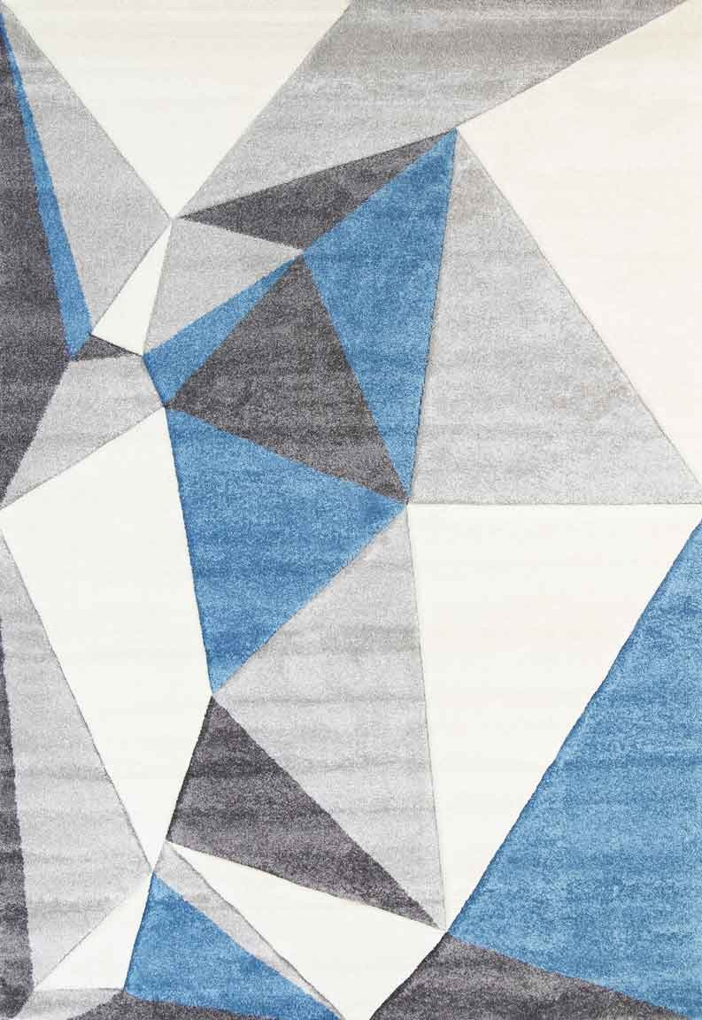Essence Blue Angles Rug
