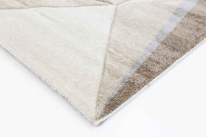 Essence Brown and Grey Angles Rug