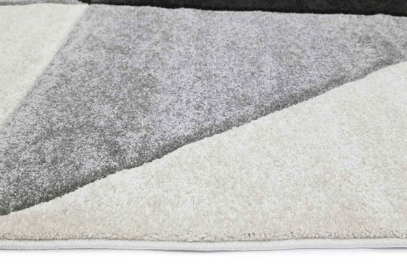 Essence Grey Angles Rug