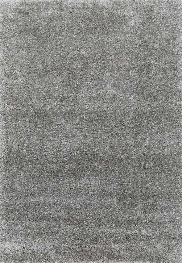Arctic Plush Grey Shaggy Rug