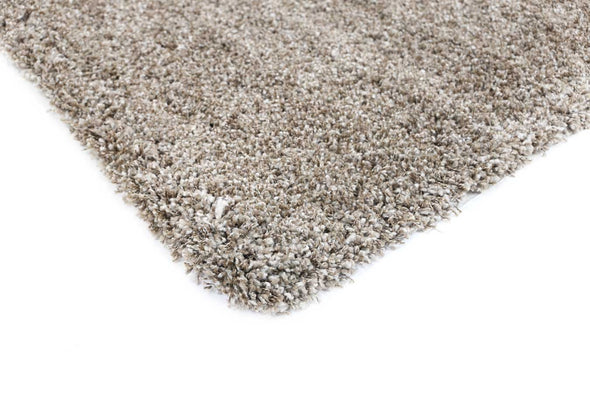 Arctic Plush Brown Beige Shaggy Rug
