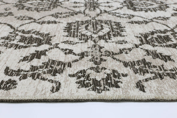 Rusty Vintage Classic, Amazing 2 in 1 Reversible Rug Beige