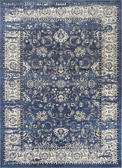 Sansa Ziegler Distressed Navy Rug
