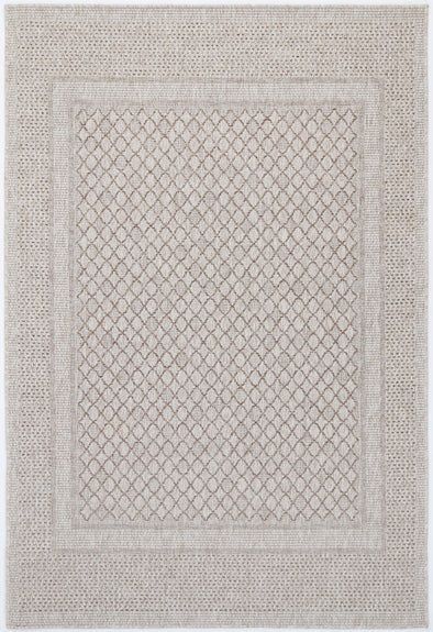 POLO 8519 Cream/Beige  Polo Patio Deanna Cream Beige indoor / Outdoor Rug