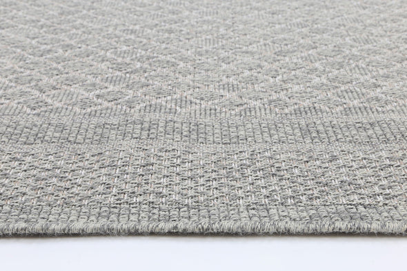 Polo Patio Carolee Light Grey Cream indoor / Outdoor Rug
