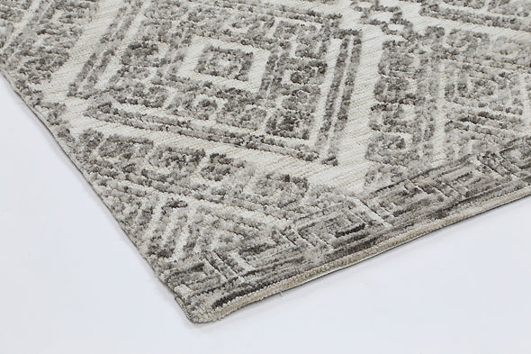 Adele Diamond Grey Rug