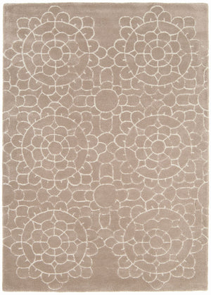 Asiatic Crochet Beige Rug