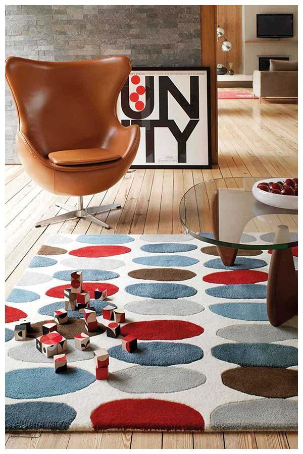 Asiatic Sofia Red/teal Rug