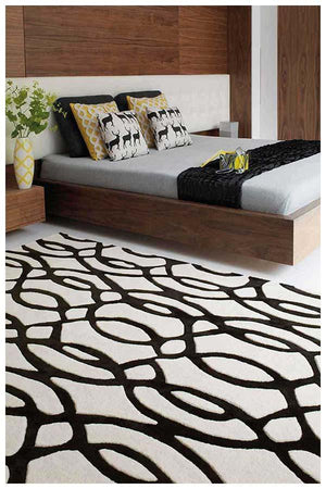 Asiatic Wire White Rug