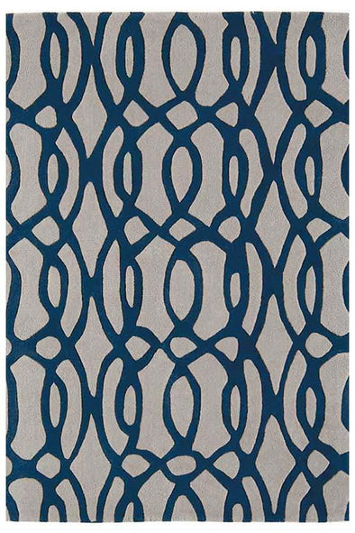 Asiatic Wire Blue Rug