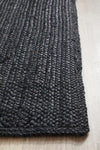 Coogee Black Runner Rug