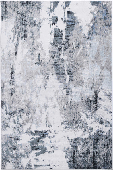 Shimmer Modern Abstract Grey Rug