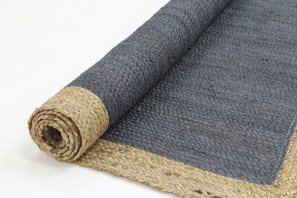 Hampton Grey Centre Jute Rug