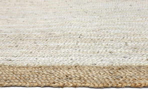 Hampton Light Pink Centre Jute Rug