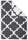 Coastal Indoor Outdoor 2 Black Rug