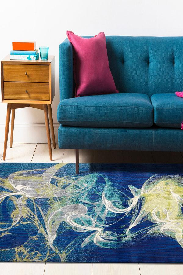 Concepts Collection 509 Blue Rug