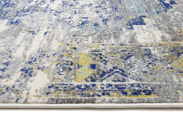 Amelia Blue Green Distressed Rug