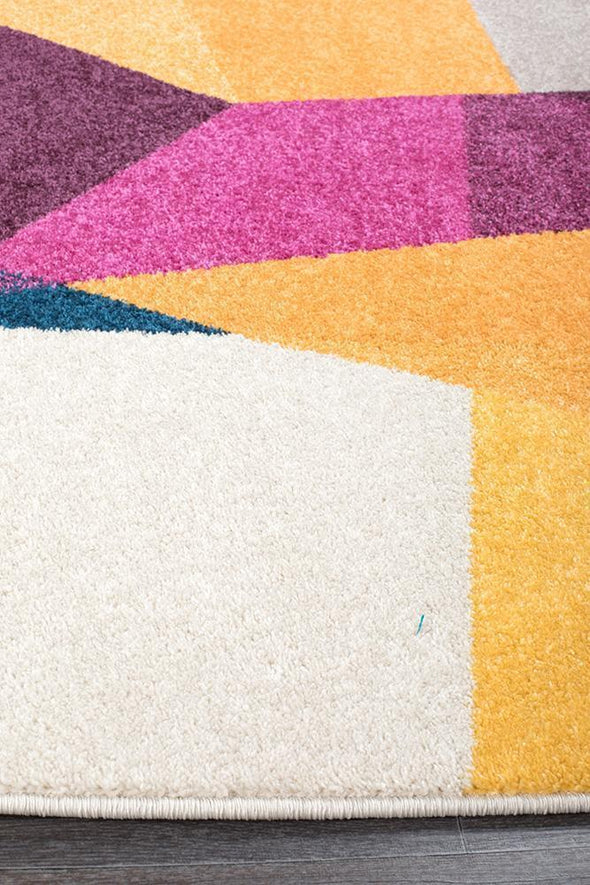 Dimensions Divinity Fragments Multi Modern Rug