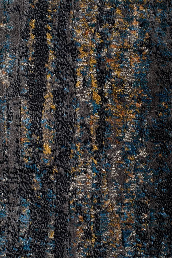 Dreamscape Distinguish Modern Slate Runner Rug