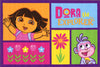 Non Slip Multicolour Kids Nickelodeon Dora the Explorer and Boots Area Rug Baby Play Mat