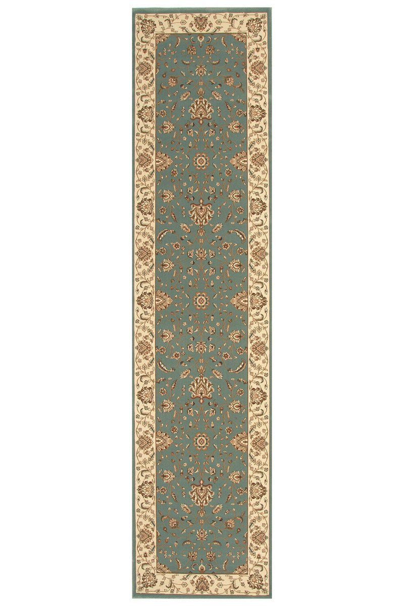 Empire Stunning Formal Classic Design Runner Rug Blue