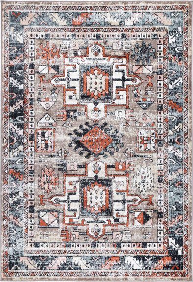 Fortune Traditional Multi Rug