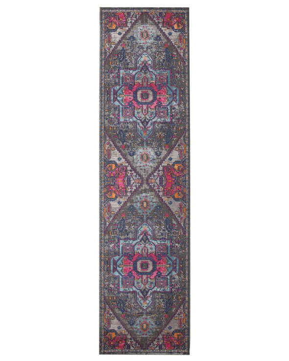 Eternal Whisper Quad Grey Runner Rug