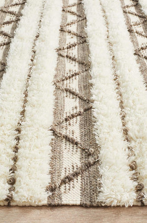 Everest Fusion Interweave Ivory Rug
