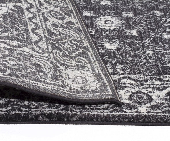 Evoke Estella Charcoal Transitional Rug