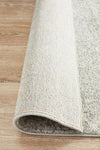 Evoke Shine Silver Transitional Runner Rug