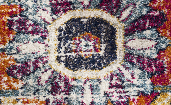 Evoke Carnival White Transitional Rug