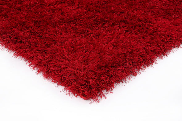 FLASH SHAGGY RED RUG